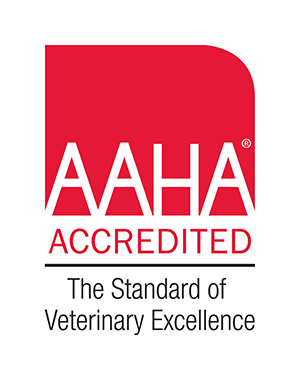 AAHA Accredited The standard of veterinry excellence