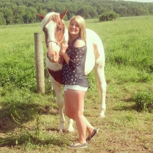 Rachel and a horse