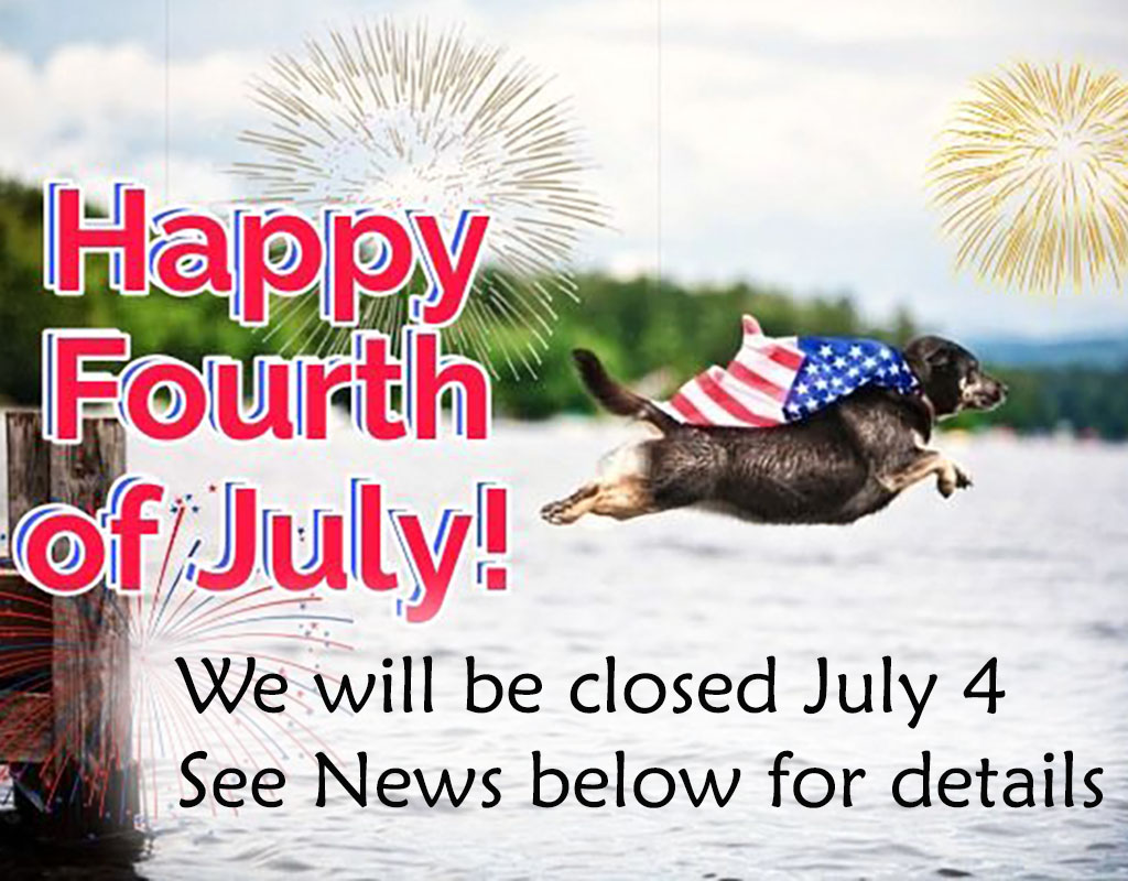 4th of July closure