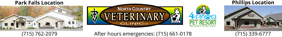 North Country Veterinary Clinic and 4Paws Pet Resort