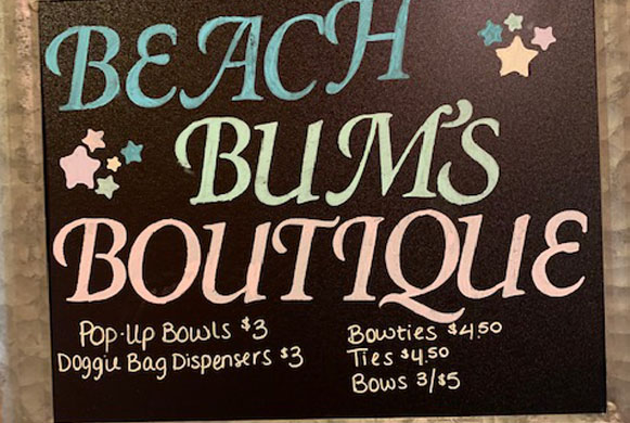 beach bums boutique