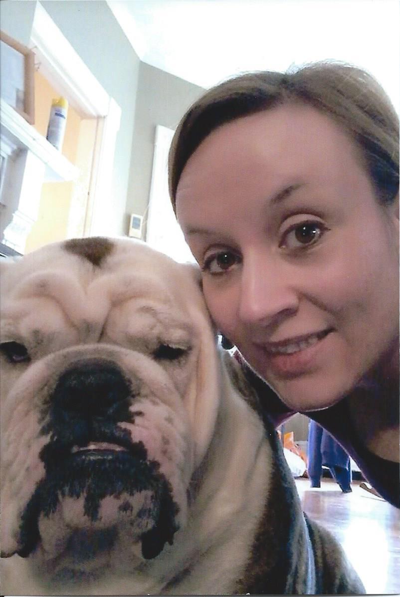 Jessica and her dog Rocky