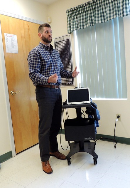 Kasey explains the use of Laser Therapy