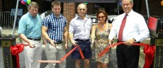 Veterinary Staff Cutting the Ribbon
