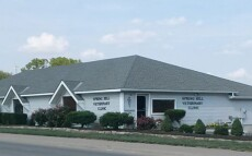 The outside of our veterinary hospital in Spring Hill, KS