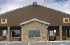The front of our clinic in Bulverde, TX
