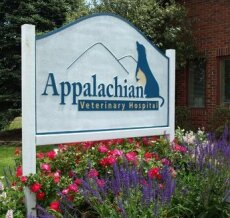 Appalachian Veterinary Hospital Sign