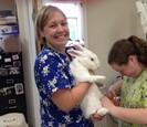 BigA bunny -Amy and Ivy