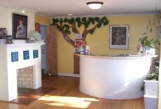 The reception area in our animal hospital