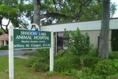 The outside of our animal hospital in Ormond Beach, FL