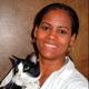 Dr. Daysi Felix-Slack holding a cat