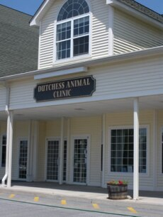 The outside of our veterinary clinic in Wappingers Falls, NY